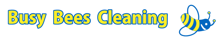 Busy Bees Cleaning Logo